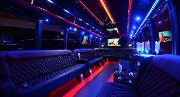 40 passenger party bus rental Charlotte