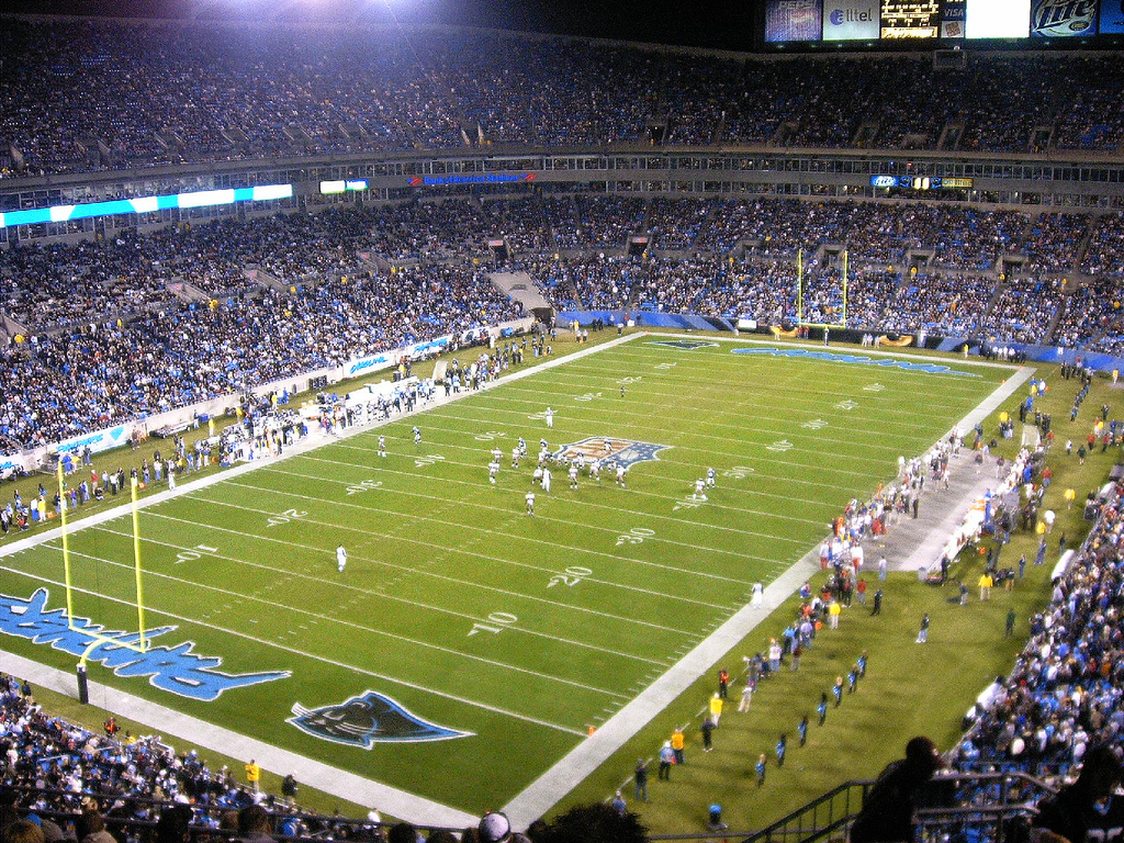party bus service bank of america stadium charlotte