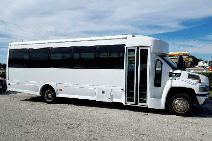 Charlotte 36 Passenger Shuttle Bus