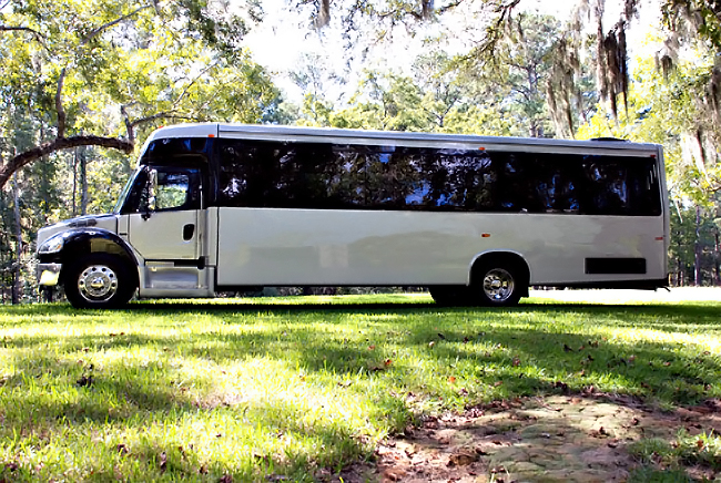 Charlotte 40 Person Shuttle Bus